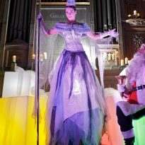 Edinburgh's Christmas 2011 – Ice, Fire and …. Zumba Another superb Edinburgh's Christmas was launched today, 8 November 2011, as plans for this year's events were unveiled. Commissioned by City of Edinburgh Council, Edinburgh's Christmas 2011 will see the return of many of the traditional favourites, as well as a spectacular Light Night on Thursday 24 November and a St Andrew's Day weekend event.  Some special treats will also be unveiled, making the most of Princes Street over the festive period.   From a fourteen metre high Snow Queen featuring spectacular pyro effects at Light Night, to the much loved Edinburgh's Ice Rink and traditional markets, the city will once more enjoy a programme packed full of old favourites and new additions. The traditional German Christmas market will be a key feature as always, Light Night on 24 November will include an awe-inspiring frost and fire show to light Edinburgh's Christmas Tree, and the six week celebrations will conclude on Wednesday 4 January.